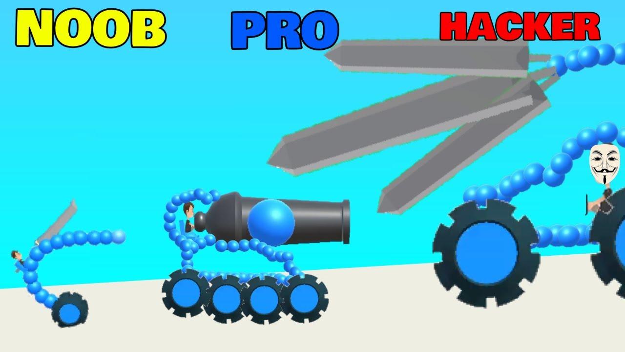 Download NOOB vs PRO vs HACKER in Draw Joust