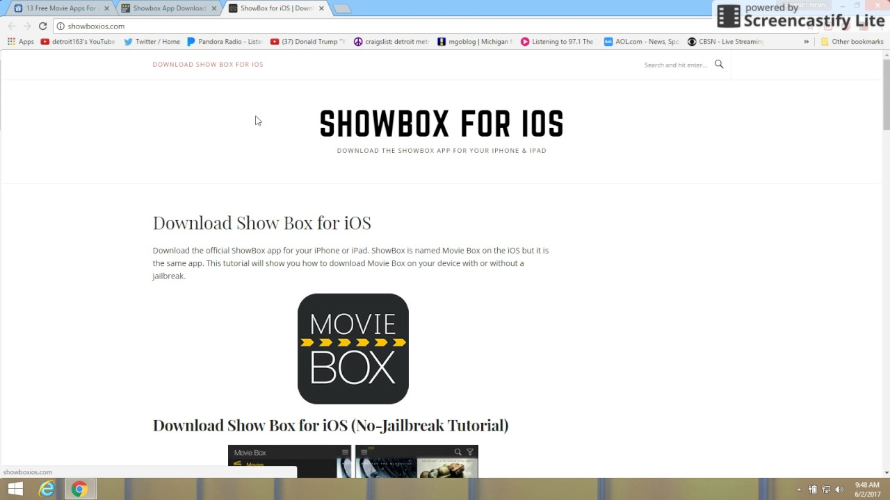 free movie apps for android showbox