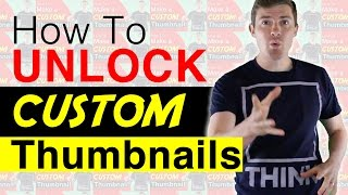 How To Enable and Get Custom Thumbnails on YouTube thumbnail
