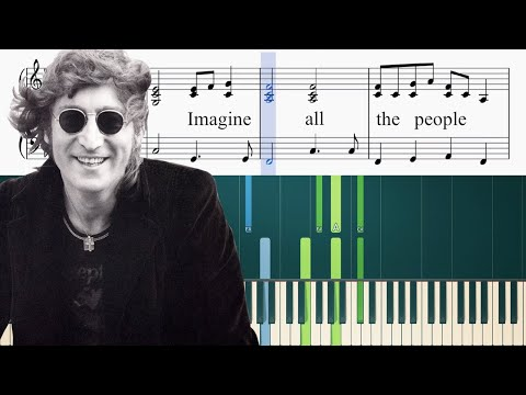 John Lennon - Imagine - Piano Tutorial + Sheets