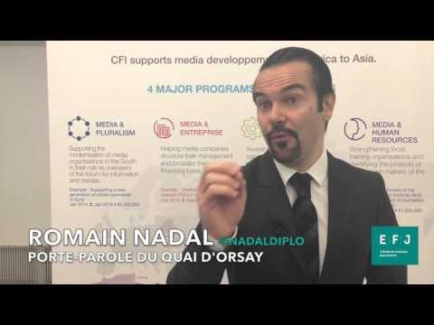 Interview Romain Nadal - Porte-parole du Quai d'Orsay #4MParis