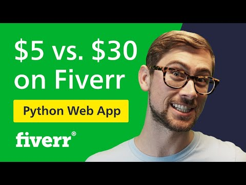 I paid $5 for a PYTHON web app on Fiverr | CHEAP VS. EXPENSIVE