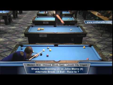 John Morra vs Shane VanBoening - CWO Open 8 Ball Hot Seat