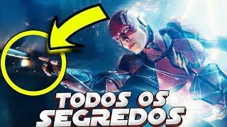 TODOS OS SEGREDOS DO TRAILER DA LIGA DA JUSTIÇA