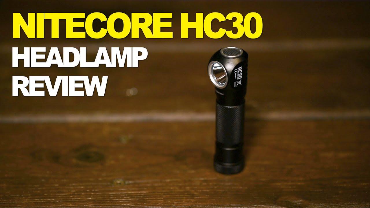 NITECORE HC30 1000 lumen headlamp ultimate review
