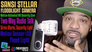 #SANSI Stellar Floodlight Camera Review | Installation💡 : LGTV Review