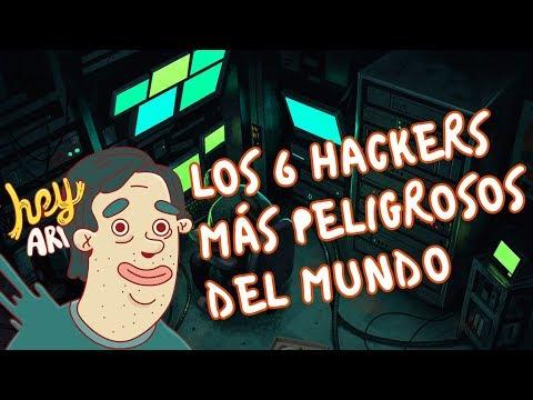 Los 6 hackers más peligrosos del mundo - Hey Arnoldo