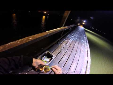 TRINITY BAY NIGHT FISHING WITH DOWN SOUTH LURES