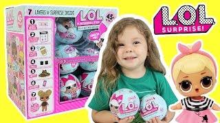 LIVE SHOW - L.O.L. Surprise Dolls Full Case Unboxing