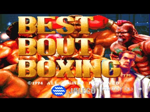 Best Bout Boxing - Classic Arcade Boxing Game (Jaleco 1994)