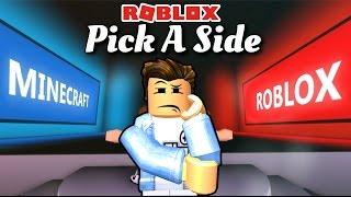 Roblox | DOVREBBE selezionare ROBLOX o MINECRAFT-Pick un lato | Rottura di Kia
