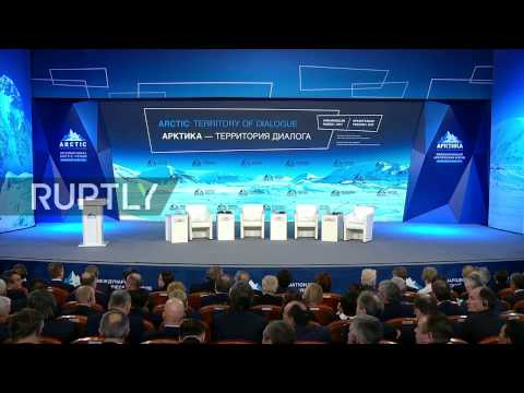 LIVE: Putin takes part in plenary session of the International Arctic Forum