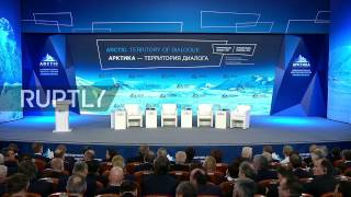 LIVE  Putin takes part in plenary session of the International Arctic Forum
