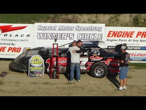 Pro Stock Feature Race at Great Lakes Nationals, Crystal Motor Speedway on 09-18-16