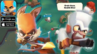 Zooba: Action & Adventure Game Online brawl arena! Go fight - Android/Ios Gameplay
