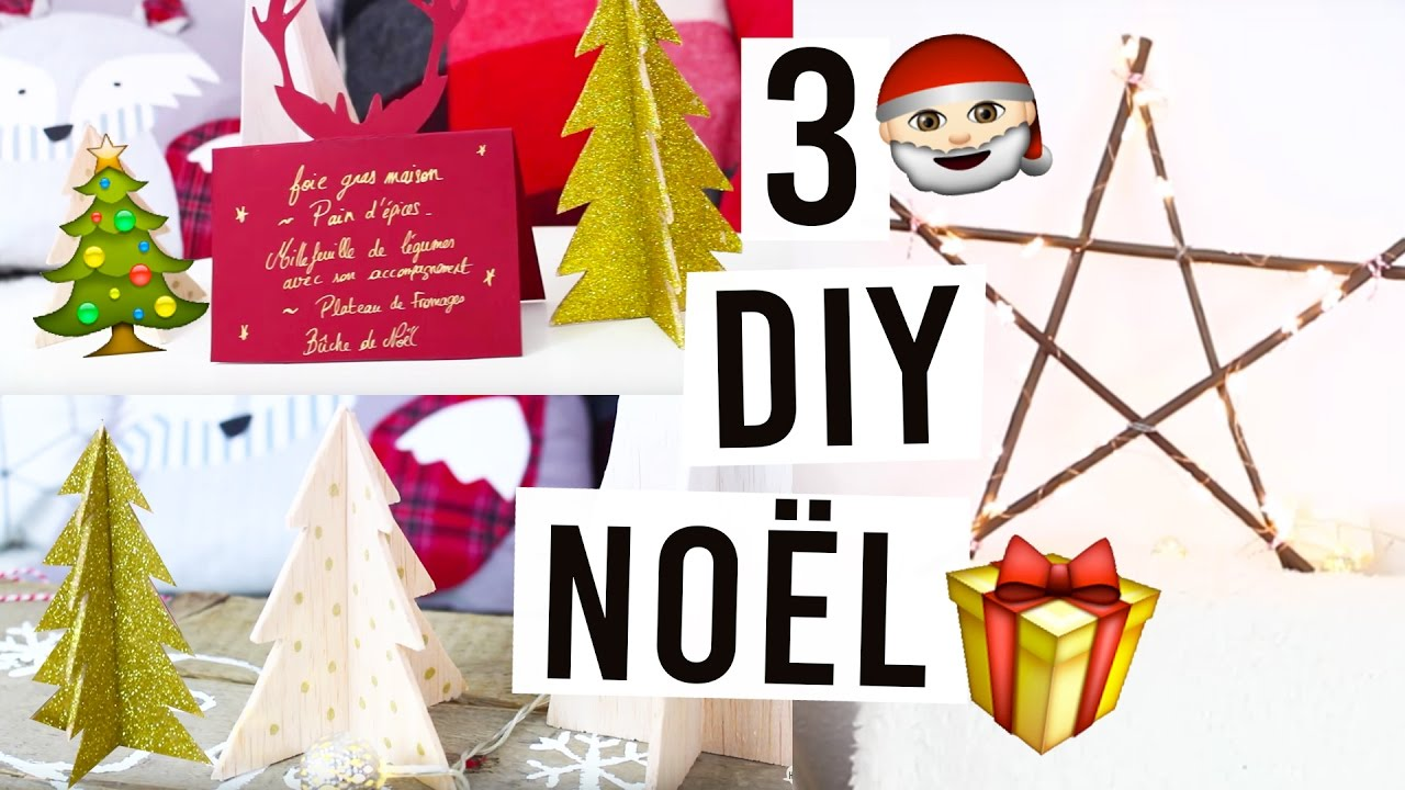 Diy De Noel A Faire Absolument Facile Rapide Youtube
