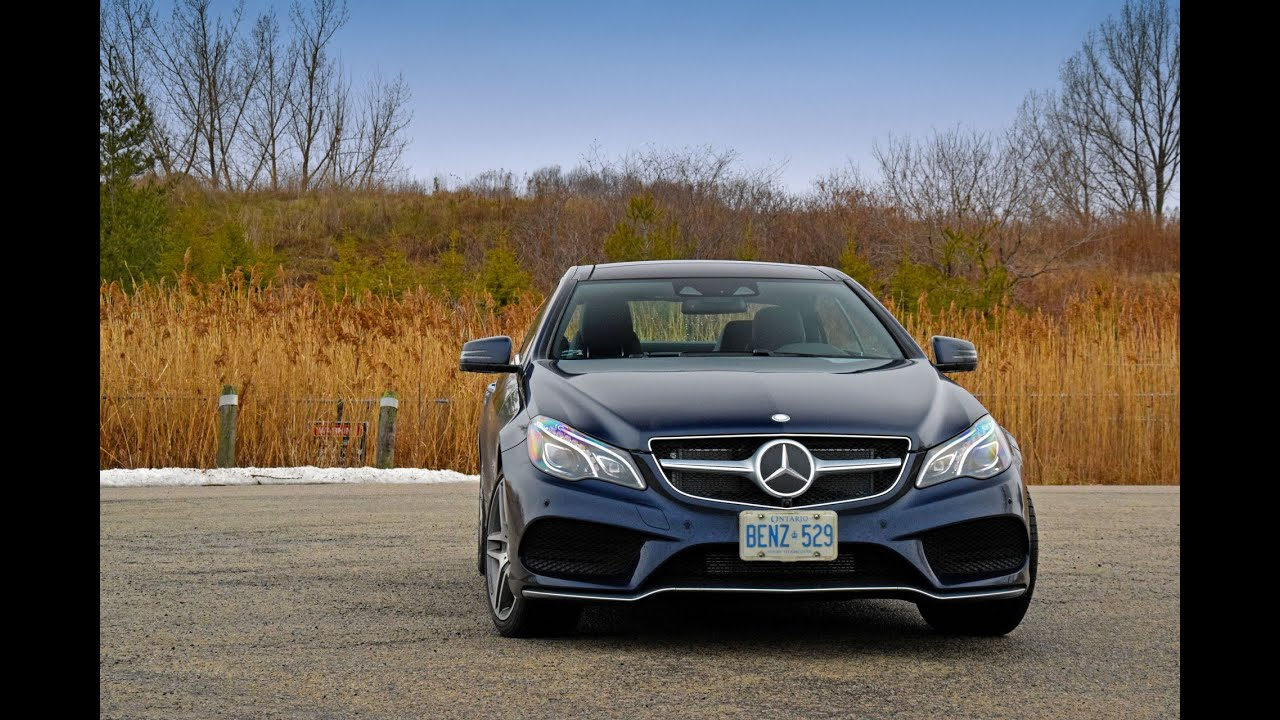 Awesome 2016 Mercedes Benz E550 Coupe   Review