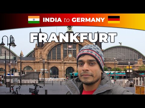 Travel Vlog: 2 days in Frankfurt am Main