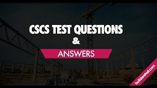 CSCS Mock Test | CSCS Mock Exam