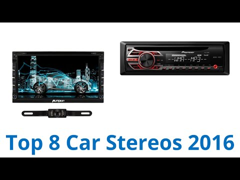 8 Best Car Stereos 2016