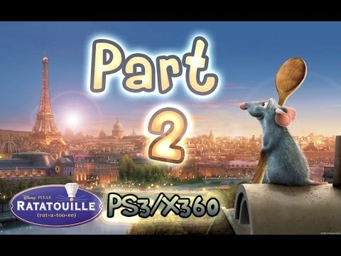 Ratatouille Walkthrough Part 2 The Movie Game Ps3