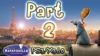 Ratatouille Walkthrough Part 2 : The Movie - Game (PS3, Xbox 360)