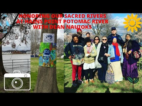 Honoring Our Sacred Rivers: Potomac River w/ Dean Naujoks//Ice Turtle Girl: The Life & Times of Ice