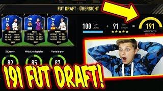 MEIN BESTES 191 TOTY FUT DRAFT in FIFA 17! ⛔️😝⛔️ - ULTIMATE TEAM (DEUTSCH) - FIFAGAMING