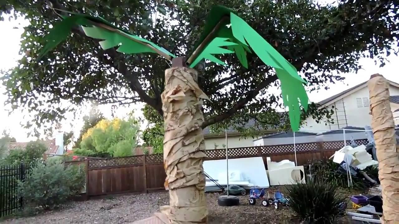 Cheap Diy Palm Trees Youtube