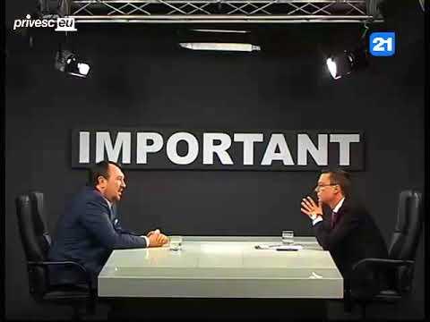"""""""Important"""" cu Gheorghe Gonța. Invitat - Alexandru Tănase"""