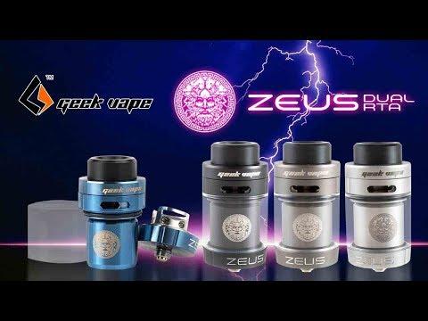 Beastly Dual Coil Vape! Zeus Dual RTA by GEEKVAPE!