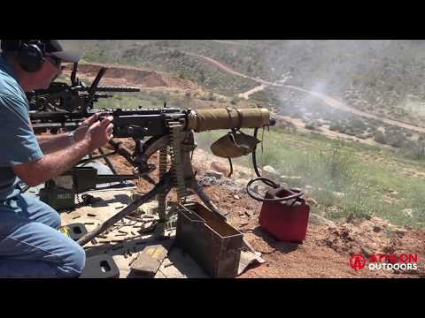 Range Time with the M1917 & M1919 Browning Machine Guns
