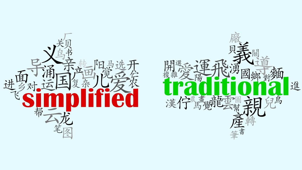 Difference Between Chinese and Japanese Writing