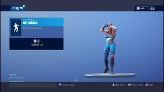 [FREE] Fortnite New Emote Hot Marat [Wreck it ralph hint ]