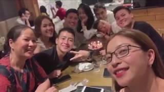 Quang Hải và bạn gái vui hết nấc mừng sinh nhật Văn Hậu   NEXT SPORTS