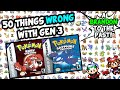 50 Things WRONG With Pokemon Ruby Sapphire And Emerald Generation 3 mp3