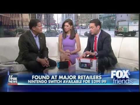 Reggie Fils-Aime on Fox&Friends
