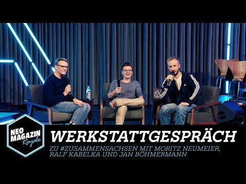 Werkstattgespräch mit Moritz Neumeier, Ralf Kabelka und Jan Böhmermann   Neo Magazin Royale - ZDFneo
