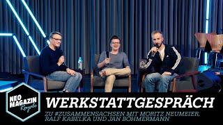 Werkstattgespräch mit Moritz Neumeier, Ralf Kabelka und Jan Böhmermann | Neo Magazin Royale - ZDFneo