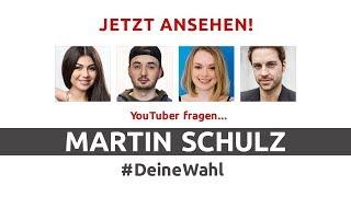 #DeineWahl - YouTuber fragen Martin Schulz | Mit Marcel Scorpion, Nihan, MrWissen2go, ItsColeslaw
