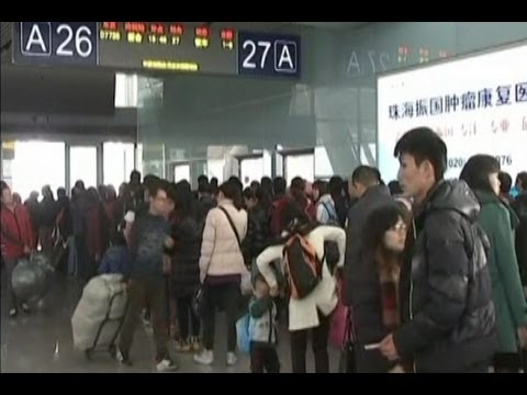 Southern China Hub Faces Travel Rush Despite High-Speed Rail