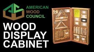 Wood Display Case