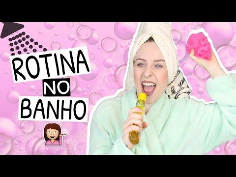 MINHA ROTINA NO BANHO | Adeus cheirinho de suor 🎶 thumbnail