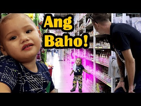 TUMAE SI BRAEDEN SA UNITOP (Braeden pooped in the store)