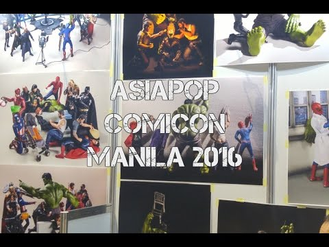 AsiaPOP Comicon Manila 2016