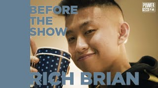 Rich Brian Solves A Rubik's Cube In 26 Seconds & Details Studio Session w/ RZA