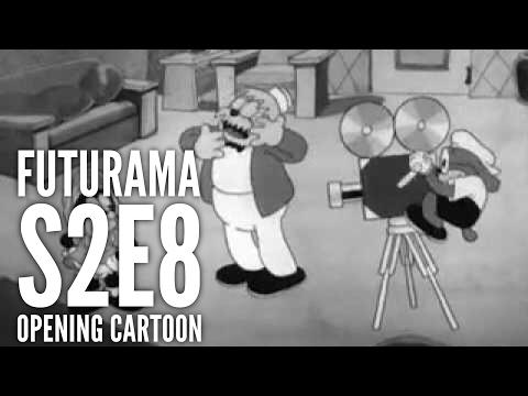 Futurama - S2E8 - Opening Cartoon - Hollywood Capers