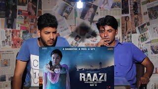 Pakistani Reacts to | 'Raazi' Official Trailer | Alia Bhatt, Vicky Kaushal | Reaction Express