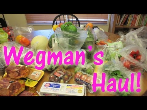 Wegmans Haul - 7-8-13 with Laura Vitale