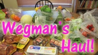 Wegmans Haul - 7-8-13 with Laura Vitale